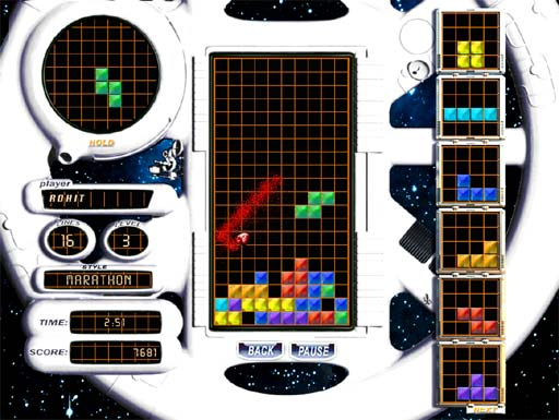 Pantallazo de Tetris Elements para PC