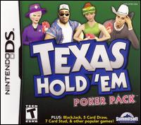 Caratula de Texas Hold 'Em Poker Pack para Nintendo DS