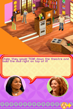 Pantallazo de That's So Raven: Psychic on the Scene para Nintendo DS