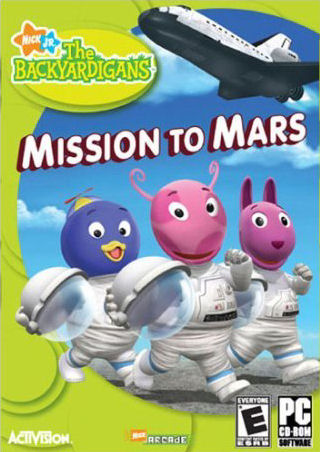 The Backyardigans Mission To Mars Book - Pics about space