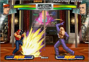 Pantallazo de The King of Fighters Neowave para Xbox