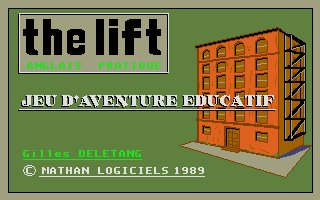 Pantallazo de The Lift: Anglais Pratique para Atari ST