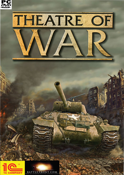 Caratula de Theatre of War (2007) para PC