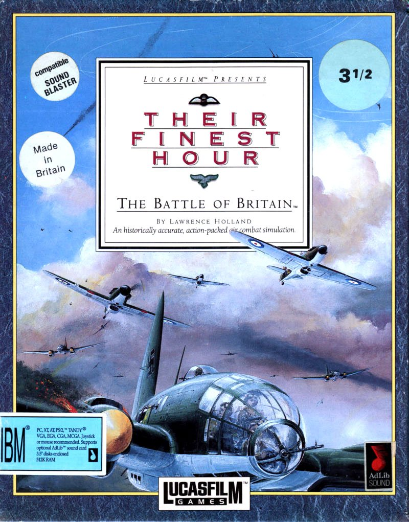 Caratula de Their Finest Hour: The Battle of Britain [3.5