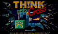Pantallazo nº 69001 de Think Cross (320 x 200)