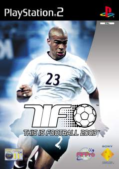 Caratula de This is Football 2003 para PlayStation 2