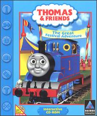 Caratula de Thomas & Friends: The Great Festival Adventure CD-ROM para PC