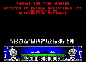 Pantallazo de Thomas The Tank Engine para Amstrad CPC