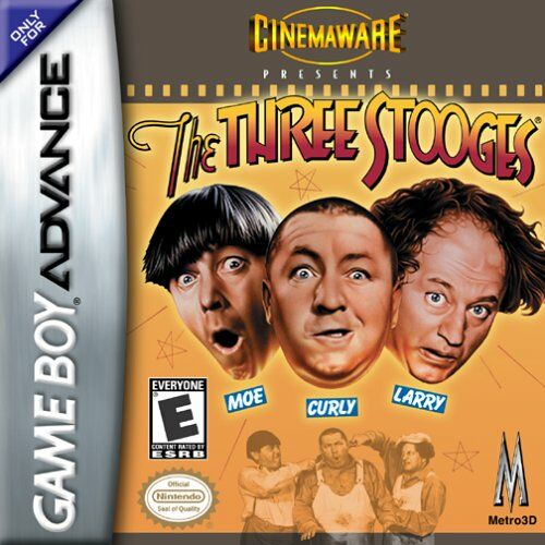 Caratula de Three Stooges, The para Game Boy Advance