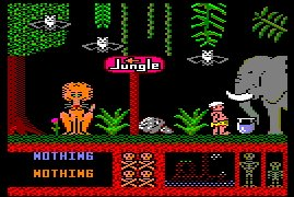 Pantallazo de Three Weeks In Paradise para Amstrad CPC