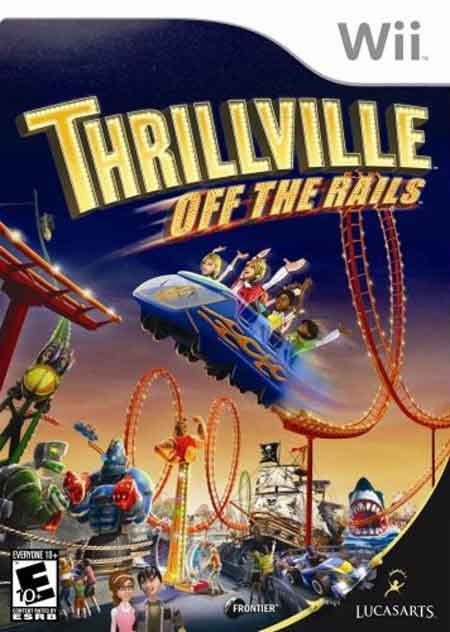 Caratula de Thrillville: Off the Rails para Wii
