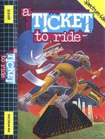 Caratula de Ticket to Ride, A para Spectrum