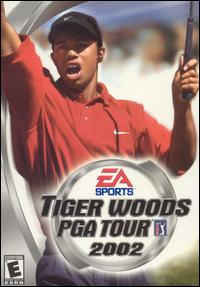 Caratula de Tiger Woods PGA Tour 2002 para PC