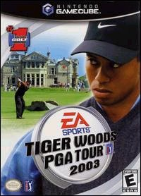 Caratula de Tiger Woods PGA Tour 2003 para GameCube