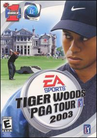 Caratula de Tiger Woods PGA Tour 2003 para PC