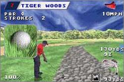 Pantallazo de Tiger Woods PGA Tour Golf para Game Boy Advance
