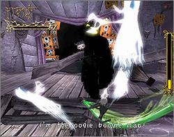 Pantallazo de Tim Burton's The Nightmare Before Christmas: Oogie's Revenge para Xbox
