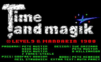 Pantallazo de Time And Magik, Pack para Amstrad CPC