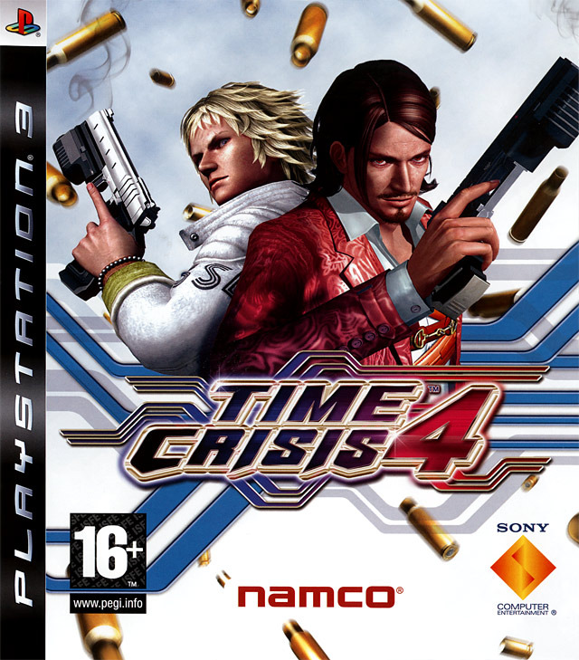 Caratula de Time Crisis 4 para PlayStation 3