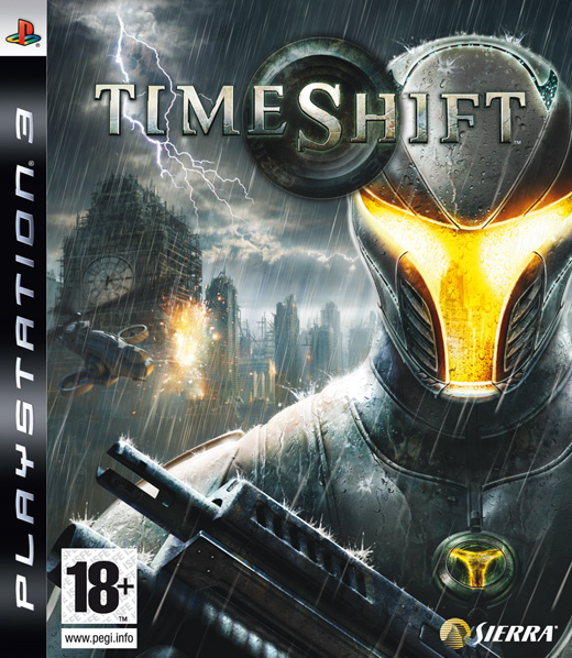 Caratula de TimeShift para PlayStation 3