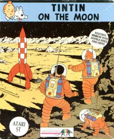 Caratula de Tin Tin on the Moon para Atari ST
