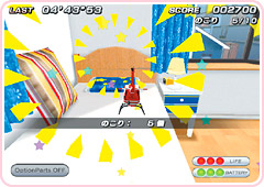 Pantallazo de Tiny Helicopter Indoor Adventure Petit Copter Wii para Wii