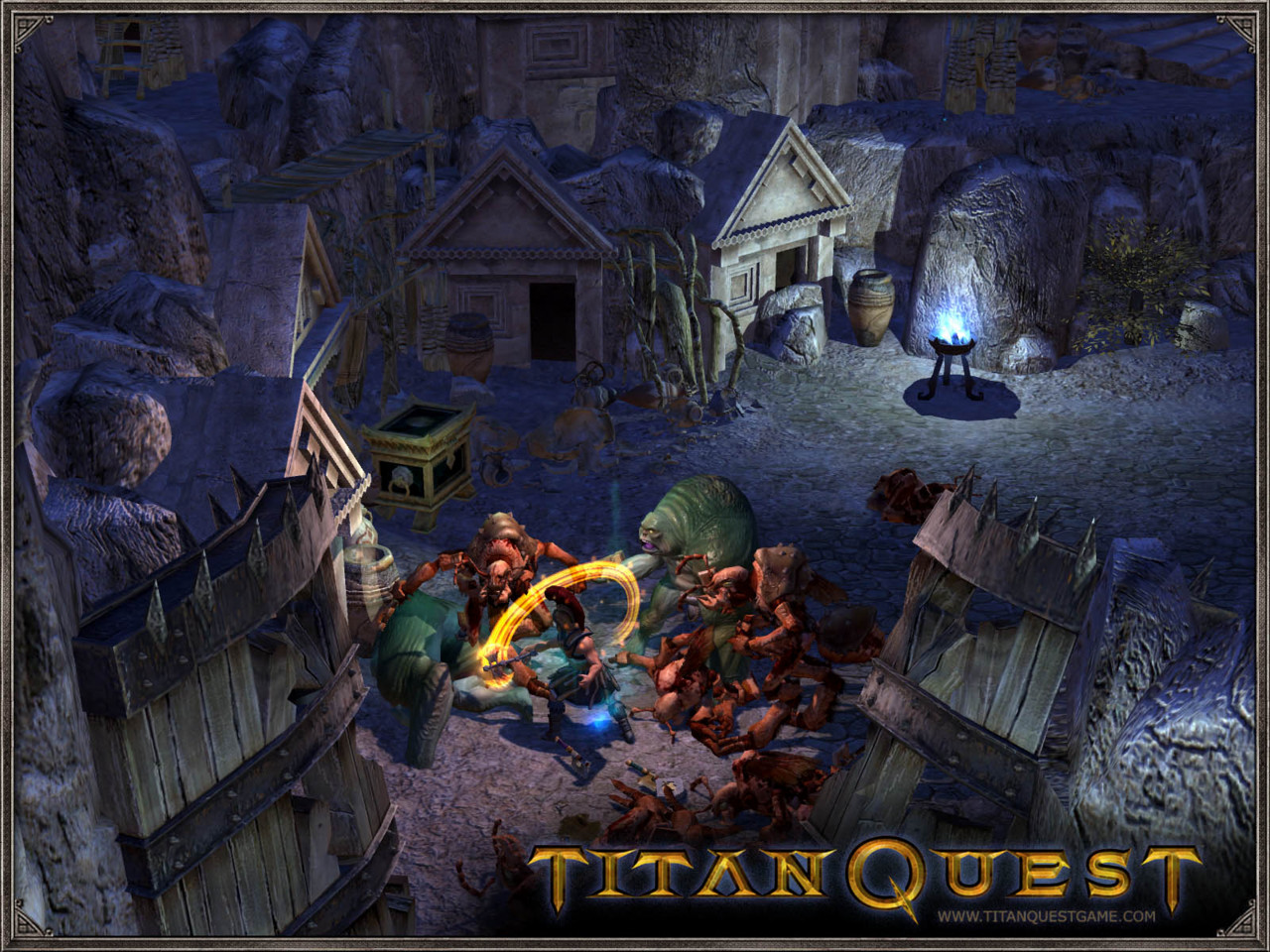 Pantallazo de Titan Quest : Immortal Throne para PC