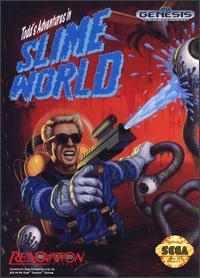 Caratula de Todd's Adventures in Slime World para Sega Megadrive