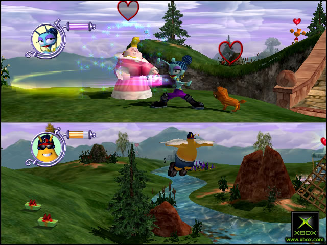 Pantallazo de ToeJam & Earl III: All Funked Up para Xbox