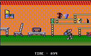 Pantallazo de Tom And Jerry para Amstrad CPC