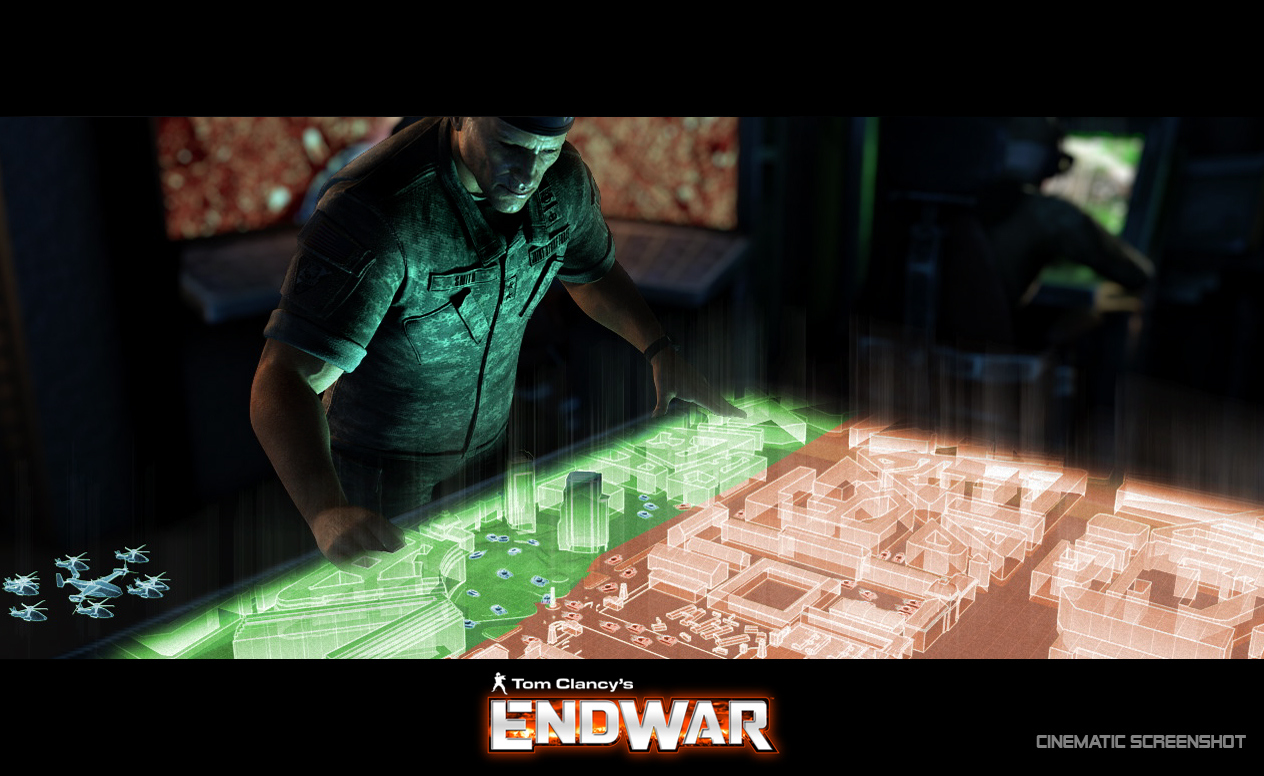 Pantallazo de Tom Clancy's EndWar para PlayStation 3