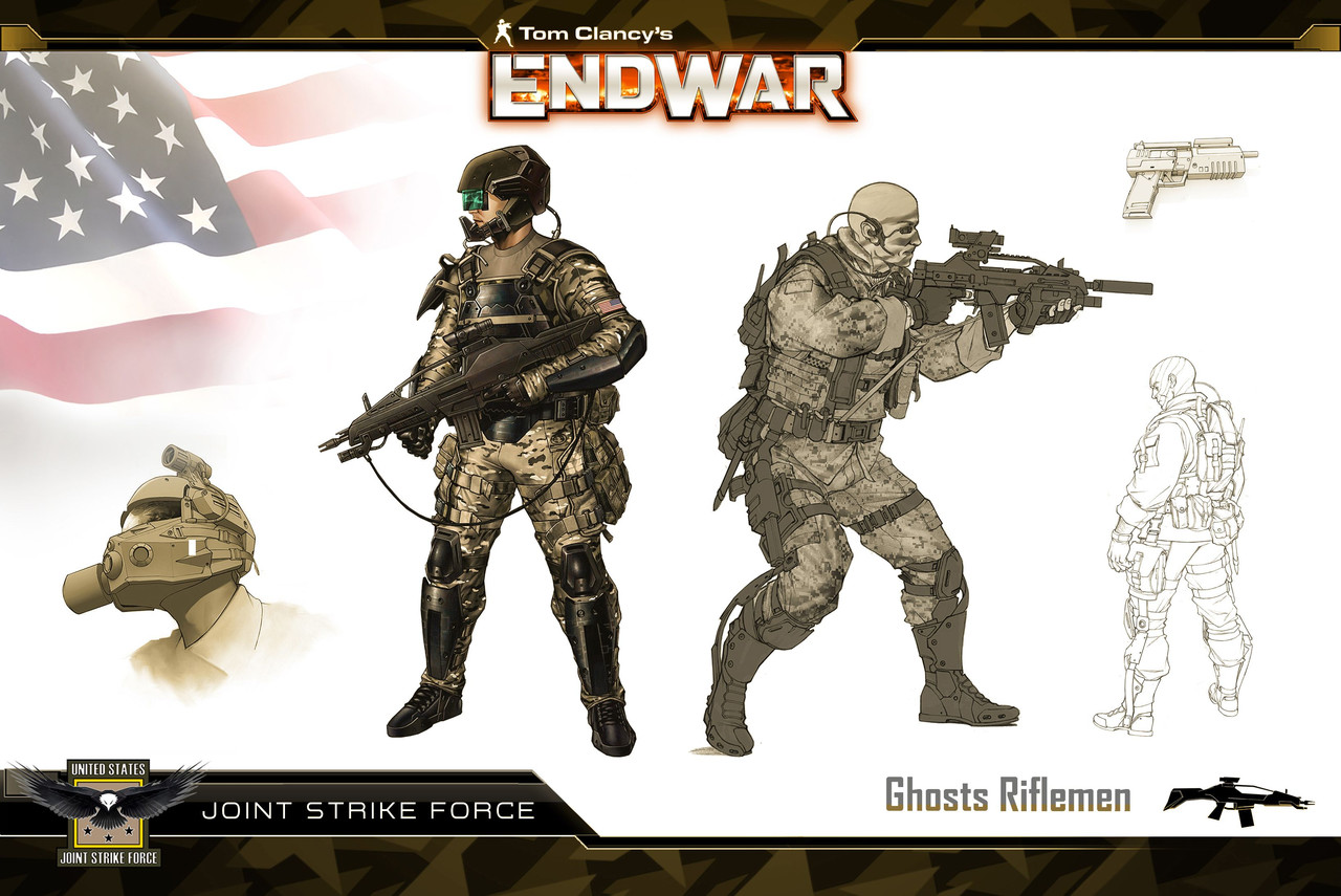 Gameart de Tom Clancy's EndWar para Xbox 360