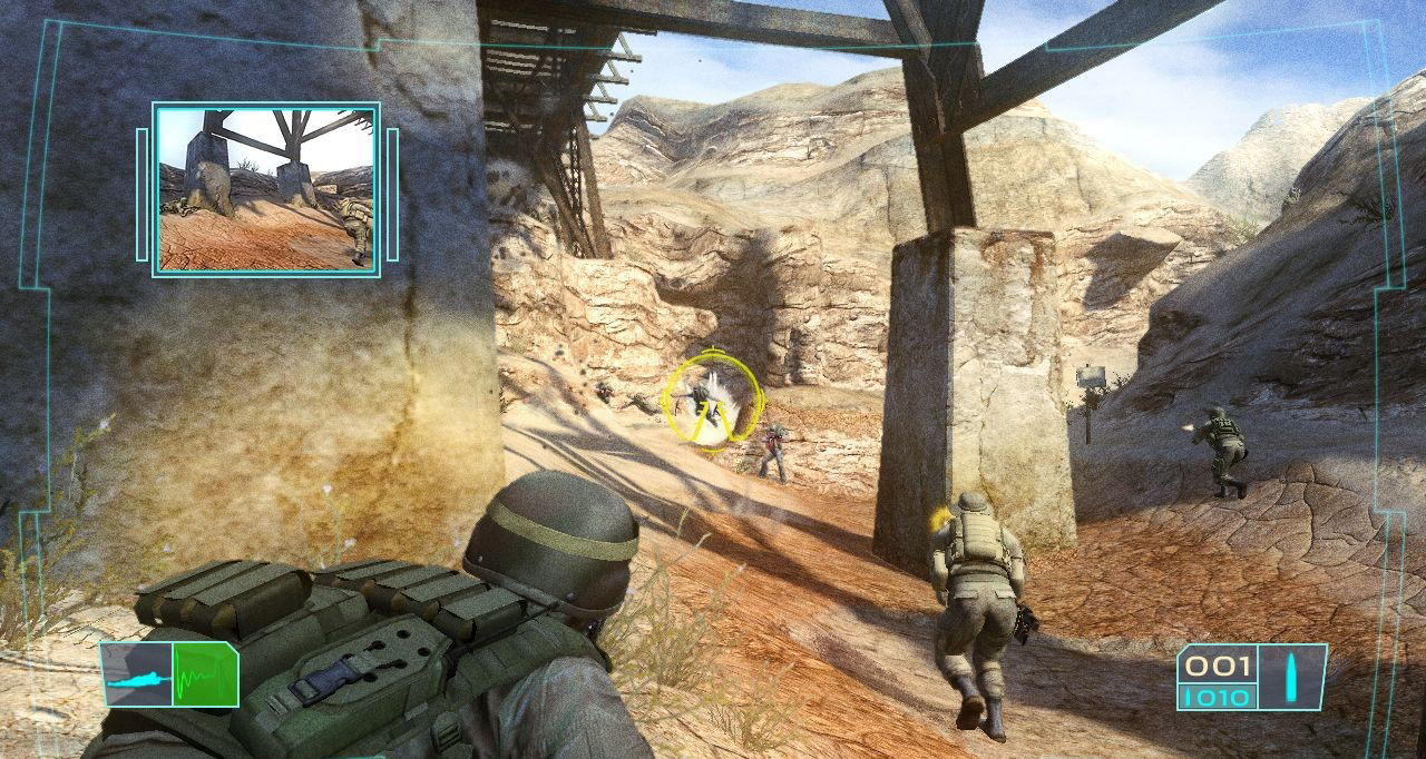 Pantallazo de Tom Clancy's Ghost Recon: Advanced Warfighter para Xbox 360