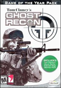 Caratula de Tom Clancy's Ghost Recon: Game of the Year Pack para PC