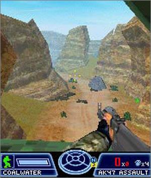 Pantallazo de Tom Clancy's Ghost Recon: Jungle Storm para N-Gage