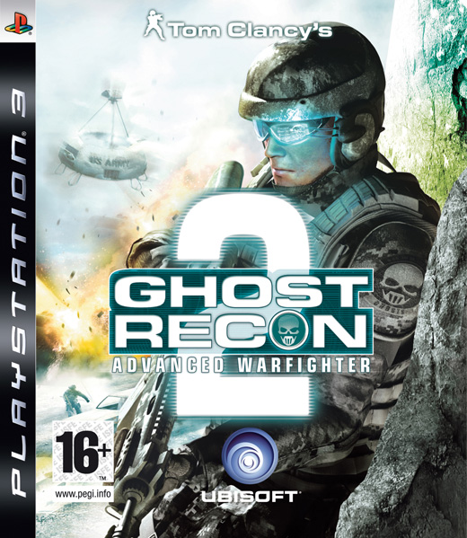 Caratula de Tom Clancy's Ghost Recon Advanced Warfighter 2 para PlayStation 3