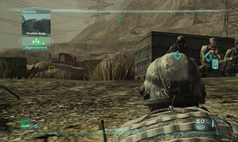 Pantallazo de Tom Clancy's Ghost Recon Advanced Warfighter 2 para PlayStation 3