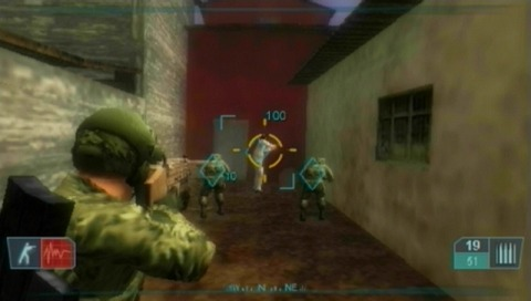 Pantallazo de Tom Clancy's Ghost Recon Advanced Warfighter 2 para PSP