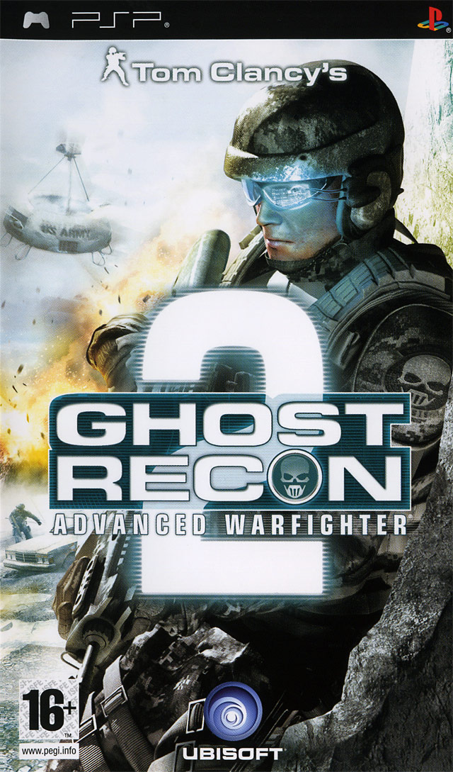 Caratula de Tom Clancy's Ghost Recon Advanced Warfighter 2 para PSP