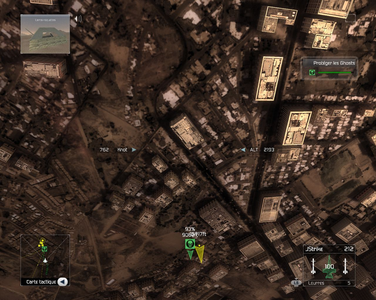 Pantallazo de Tom Clancy's HAWX para PC