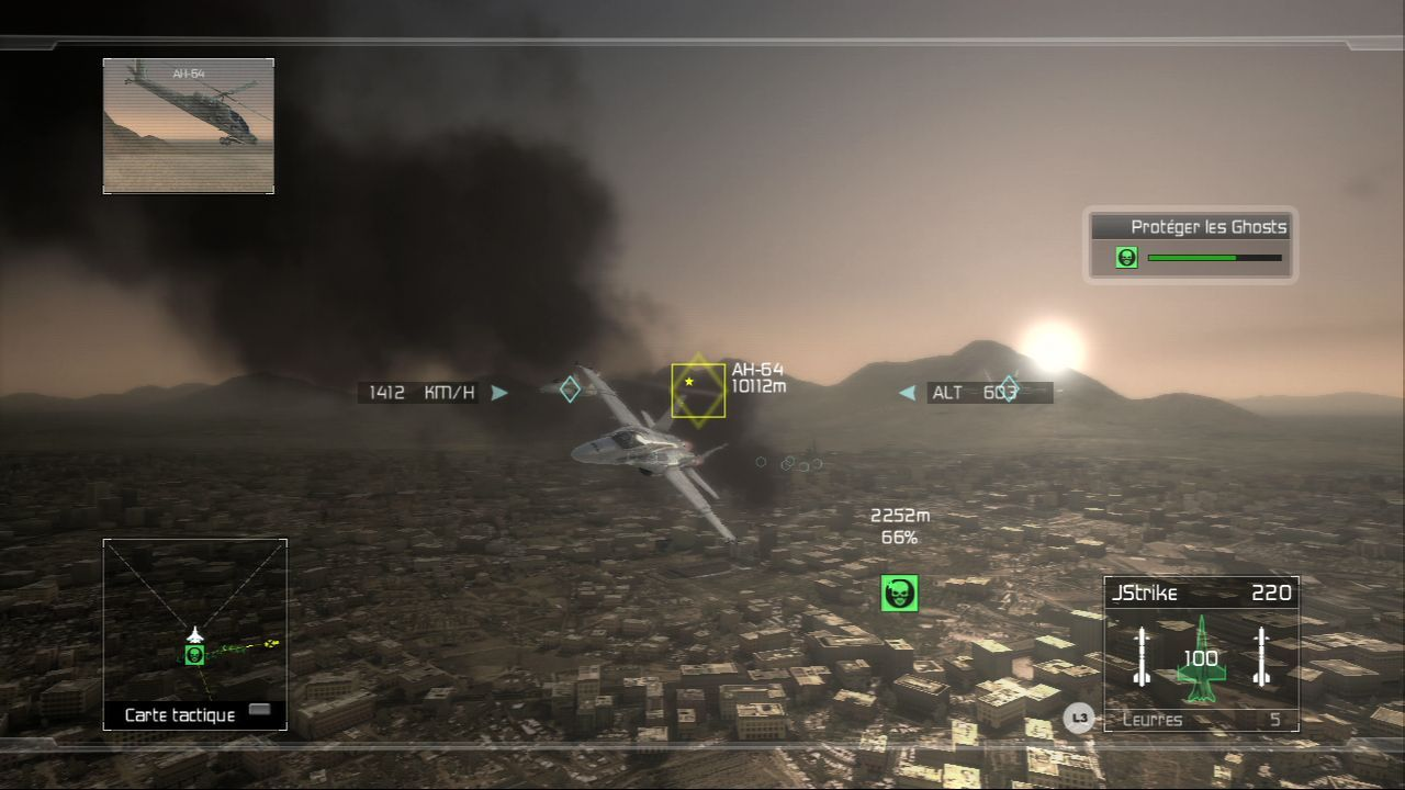 Pantallazo de Tom Clancy's HAWX para PlayStation 3