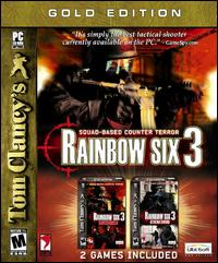 Caratula de Tom Clancy's Rainbow Six 3 Gold para PC