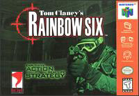 Caratula de Tom Clancy's Rainbow Six para Nintendo 64