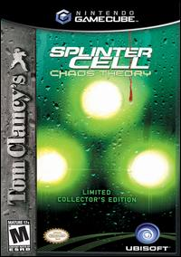 Caratula de Tom Clancy's Splinter Cell: Chaos Theory -- Collector's Edition para GameCube