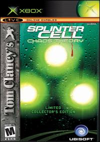 Caratula de Tom Clancy's Splinter Cell: Chaos Theory -- Collector's Edition para Xbox
