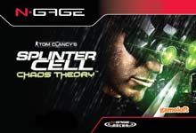 Caratula de Tom Clancy's Splinter Cell: Chaos Theory para N-Gage