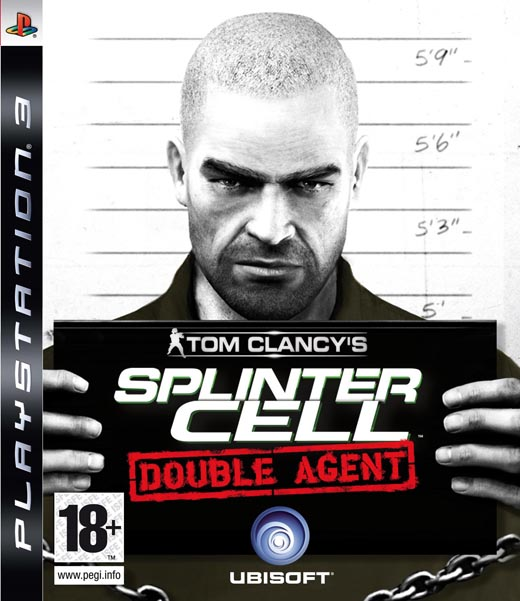 Caratula de Tom Clancy's Splinter Cell: Double Agent para PlayStation 3