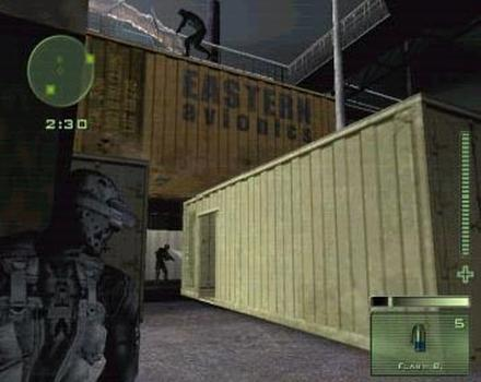 Pantallazo de Tom Clancy's Splinter Cell: Pandora Tomorrow para GameCube