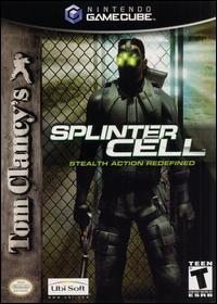 Caratula de Tom Clancy's Splinter Cell para GameCube