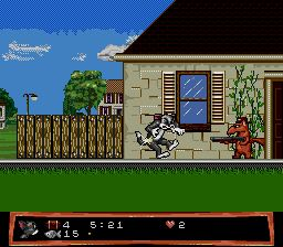 Pantallazo de Tom and Jerry: Frantic Antics! para Sega Megadrive